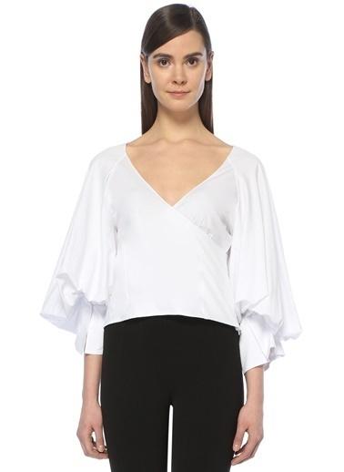 Caroline Constas Bluz Beyaz
